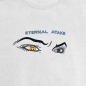 LUV Eternal Atake White Crewneck