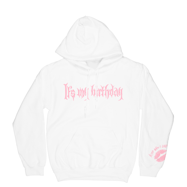 It's My Birthday Hoodie White