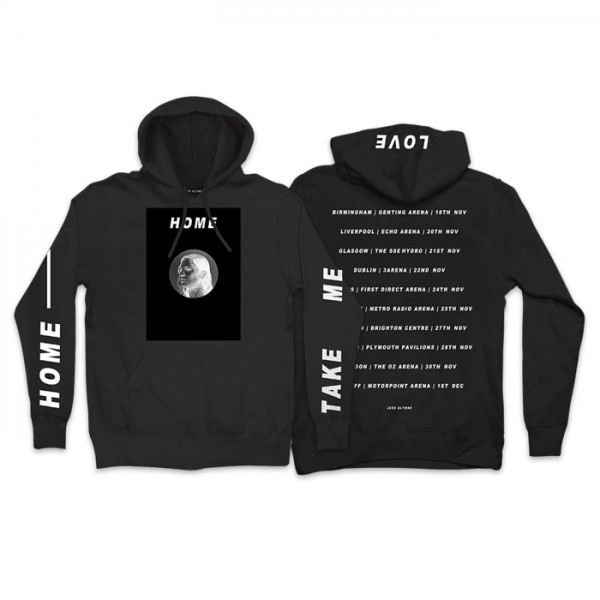 Jess Glynne - Take Me Home Hoodie (front/back)