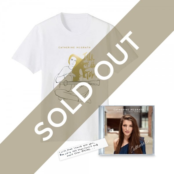 Talk Of This Town Signed CD + T-Shirt + Handwritten Lyric Sold Out