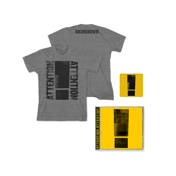 Attention Attention Deluxe CD Bundle