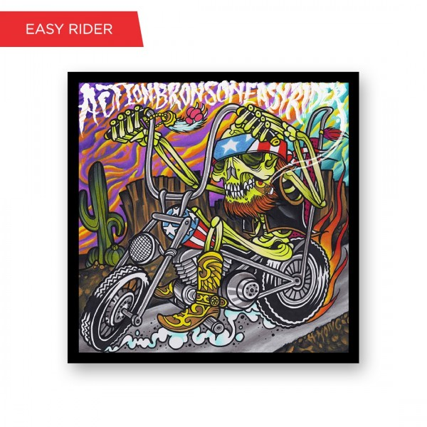 Easy Rider Screen Print Poster