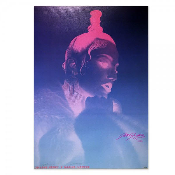 Jess Glynne - Signed Screen Print Poster