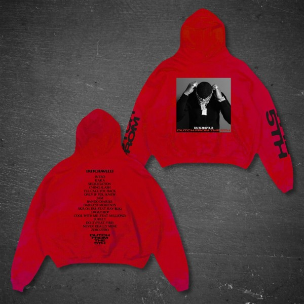 Dutch From The 5th Red Hoodie