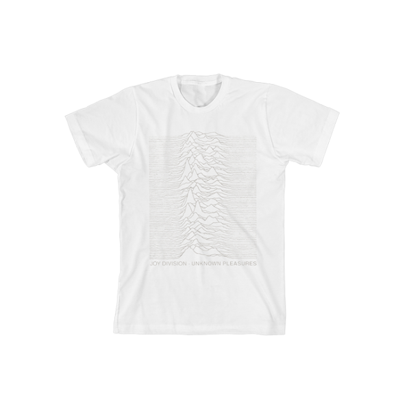Unknown Pleasures White T-shirt