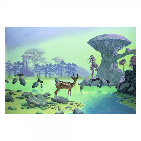Yes Roger Dean The Crossing Signed Print Official Store