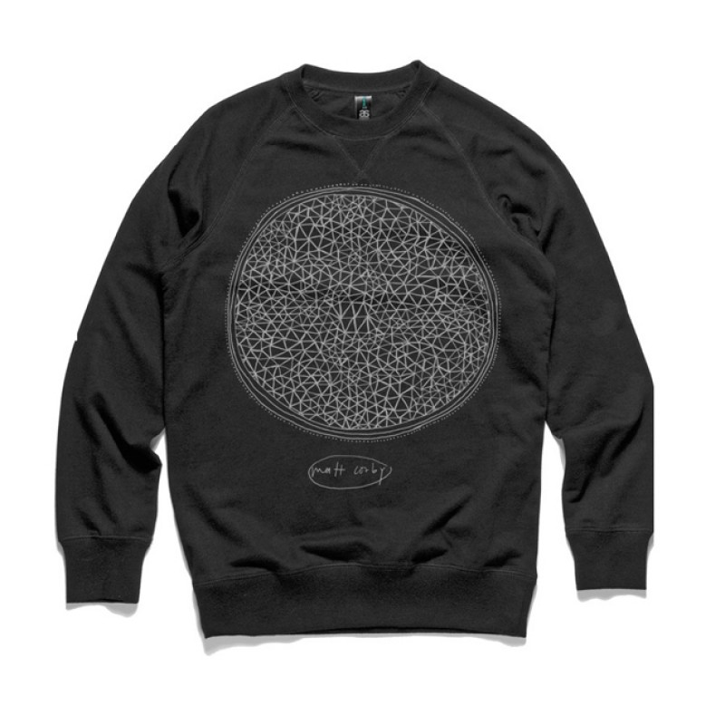 Resolution Black Crew Neck Jumper