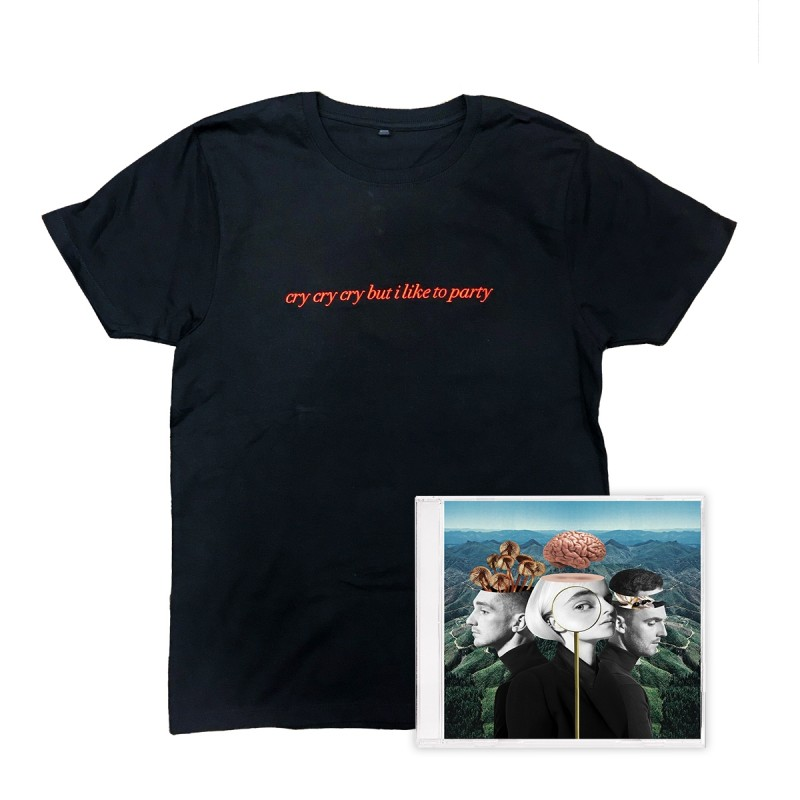 What is love standard CD and T-shirt bundle