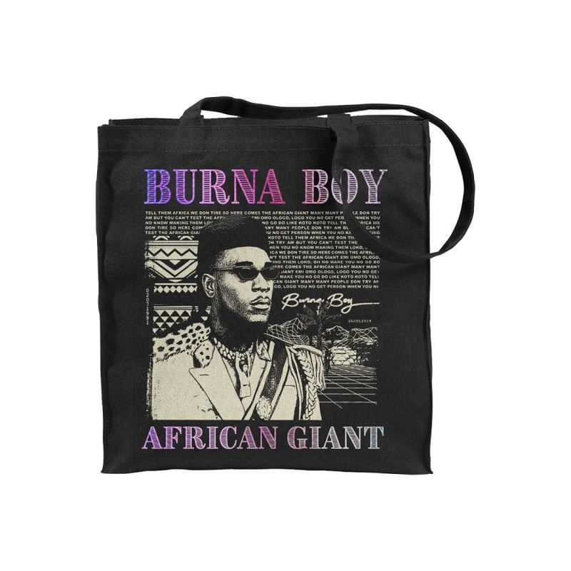 African Giant Tote Bag