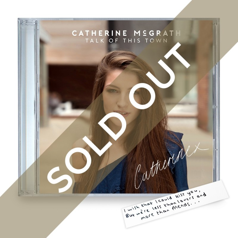 Talk of This Town Signed CD + Handwritten Lyric Sold Out