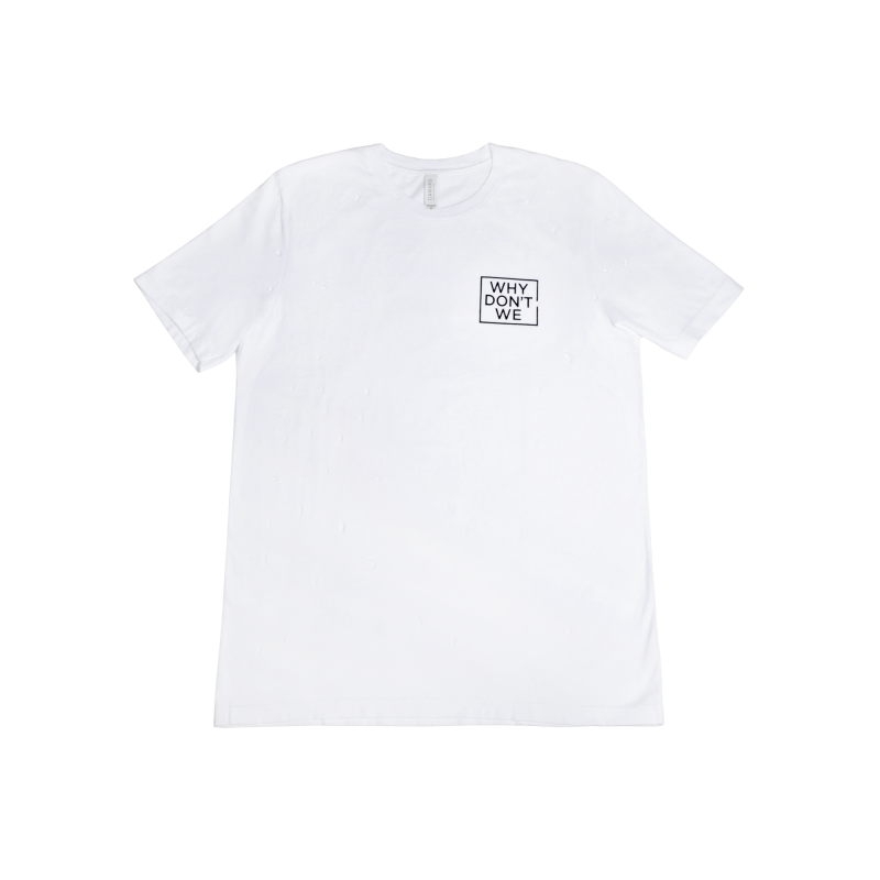 Why Don't We Distressed Logo T-Shirt