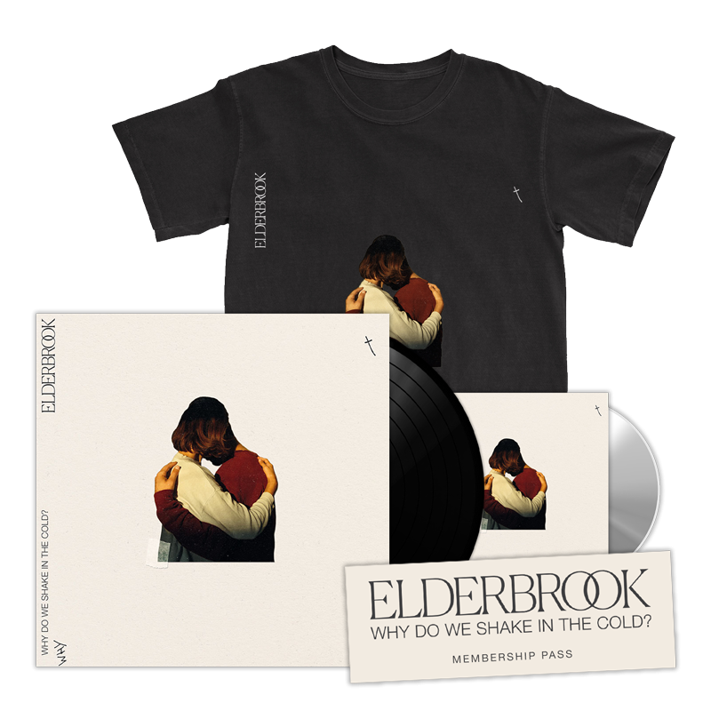 Why Do We Shake In The Cold? Signed Vinyl + CD Album + T-Shirt + Membership Pass