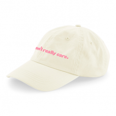 I Don't Really Care Cap Beige