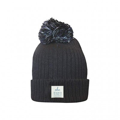 Label Beanie Black