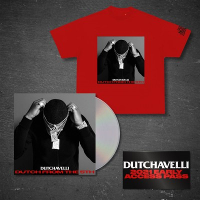 Dutch From The 5th CD + Red T-Shirt + Access Pass