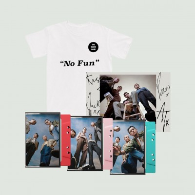 No Fun T-Shirt + Triple Cassette + Signed Art Card