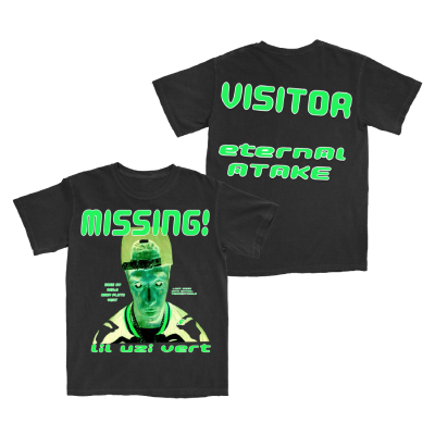 Eternal Atake Glow In The Dark Missing T-Shirt