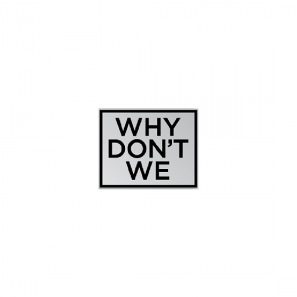 Why Don't We Enamel Pin