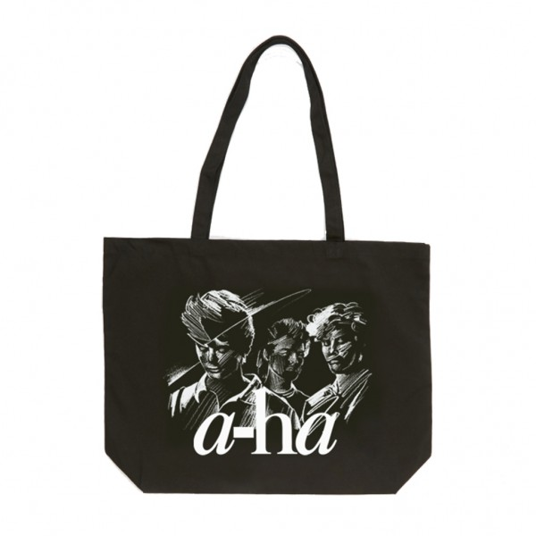 Sketch Tote Bag Black