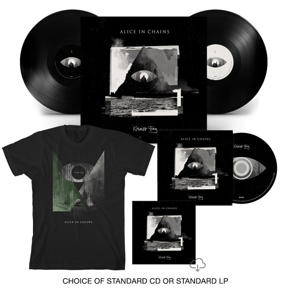 Rainier Fog CD or LP + T-Shirt Bundle
