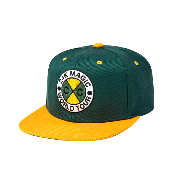 24K CxC World Tour Snapback (Green)