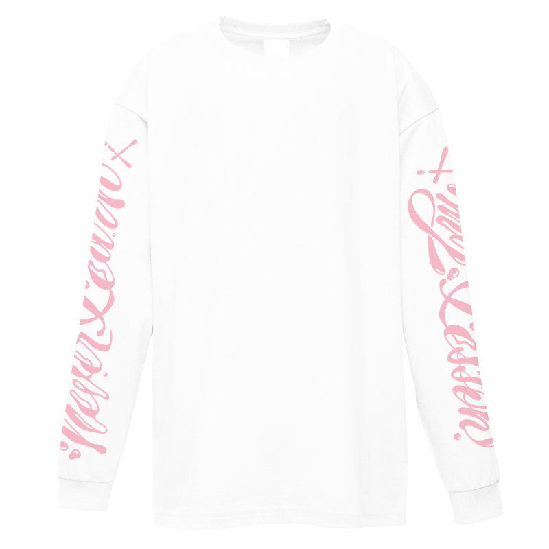 Never Learn My Lesson Longsleeve White