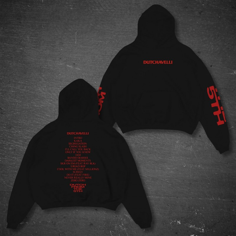 Dutch From The 5th Black Hoodie