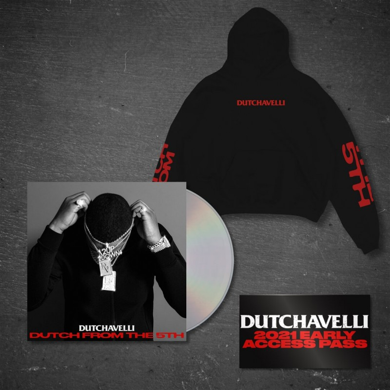 Dutch From The 5th CD + Black Hoodie + Access Pass