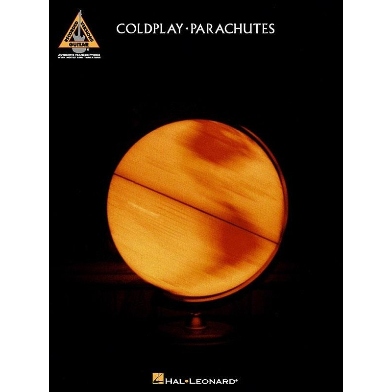 Coldplay - Parachutes - Piano, Vocal and Guitar Songbook