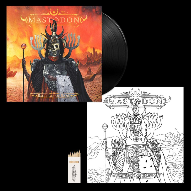 Emperor of Sand Bonus Colour-In Vinyl Jacket