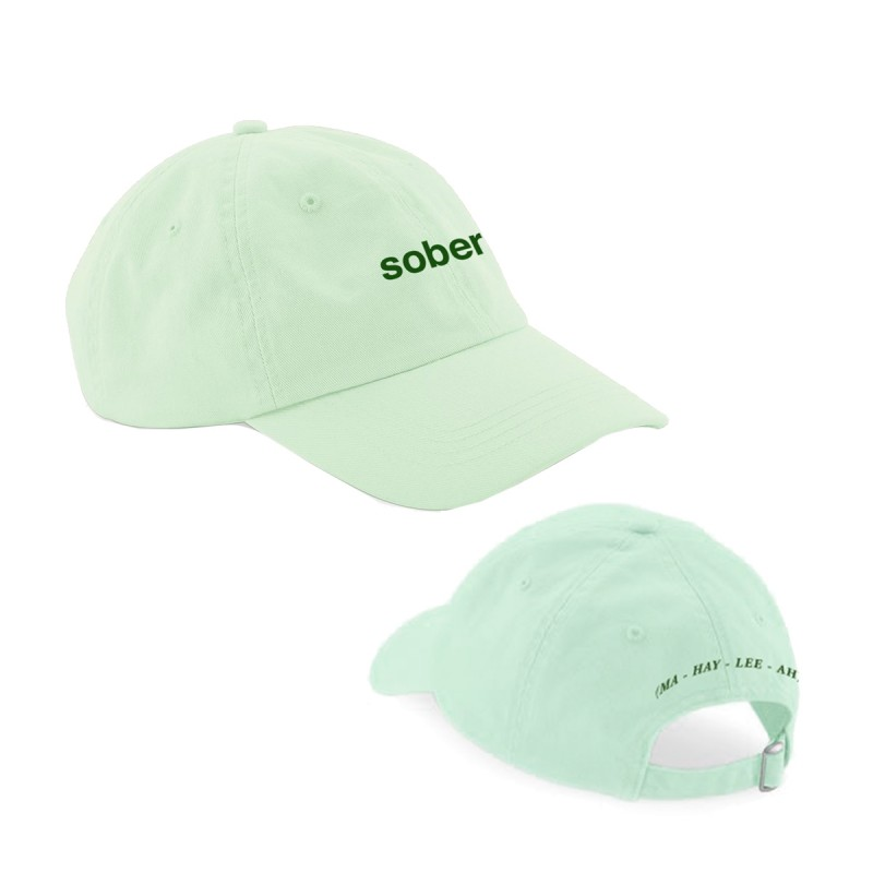 Sober Embroidered Cap Mint