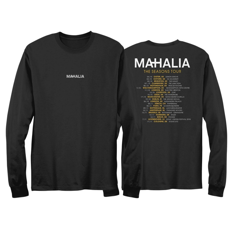 Mahalia Long Sleeve Tour