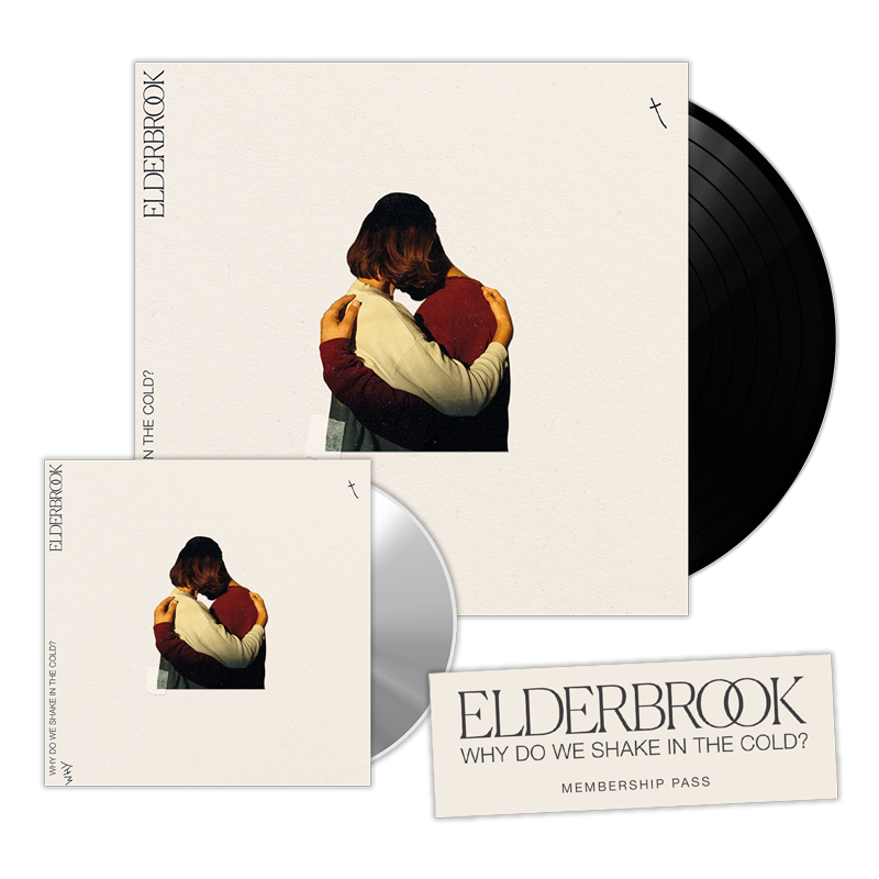 Why Do We Shake In The Cold? Signed Vinyl + CD Album + Membership Pass