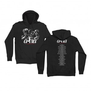 Hunting High and Low Tour Hoodie Black
