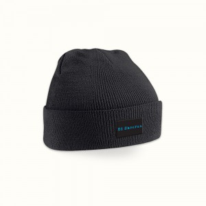 Electric Text Beanie