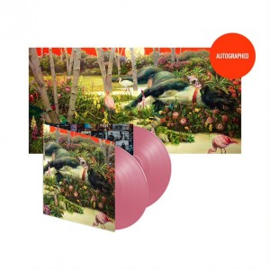 Lithograph + Vinyl (Opaque Pink Colored)