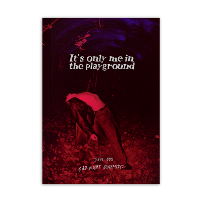 It's Only Me In The Playground Zine (A5)