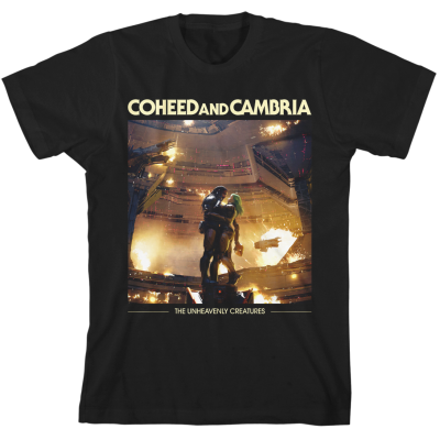 Coheed and Cambria UNHEAVENLY album art TSHIRT