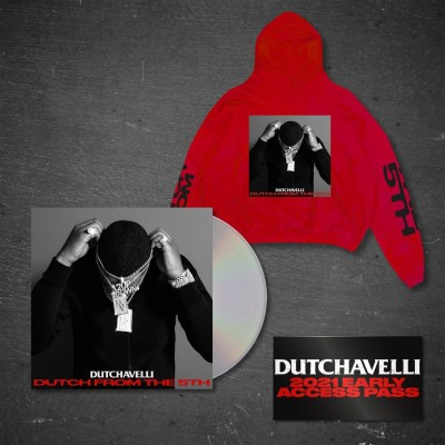 Dutch From The 5th CD + Red Hoodie + Access Pass