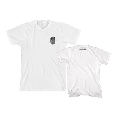 Thumbprint White T-Shirt - Disciples Merchandise