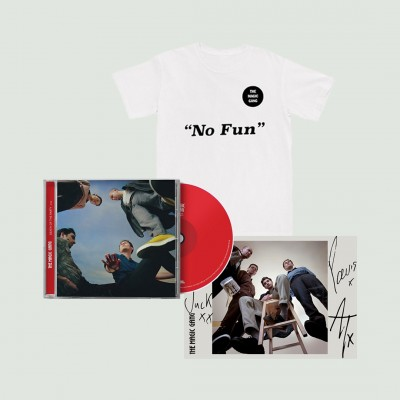 No Fun T-Shirt + CD + Signed Art Card