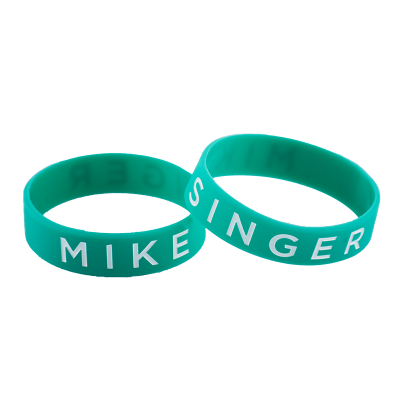MIKE SINGER WRISTBAND TÜRKIS