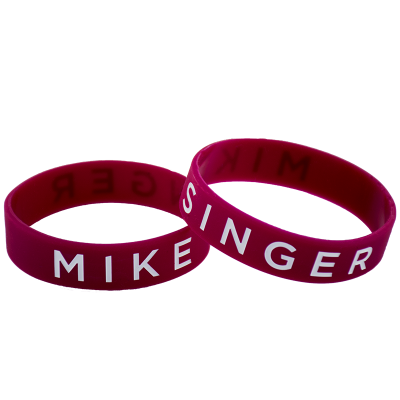 Mike Singer Wristband (Red)