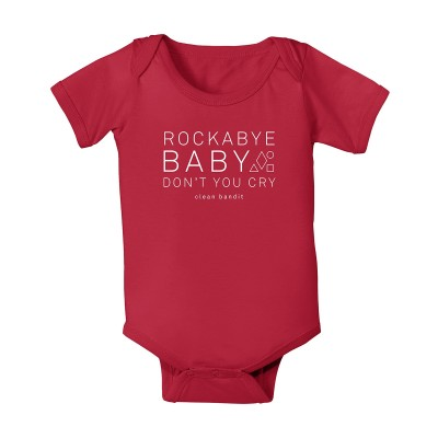 Rockabye Red Babygrow