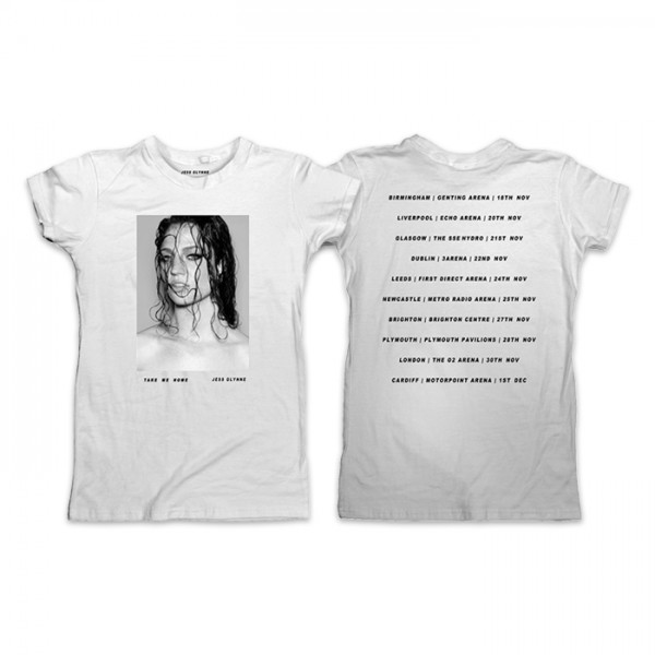 ess Glynne - Ladies Take Me Home Tour T-Shirt (front/back)