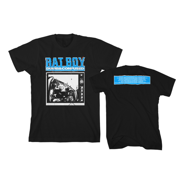 Dumb and Cnfused Tour T-Shirt Black