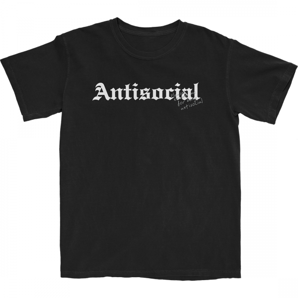 ANTISOCIAL T-SHIRT (BLACK)