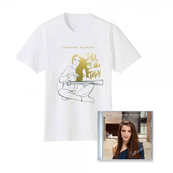 Talk of This Town CD + T-Shirt