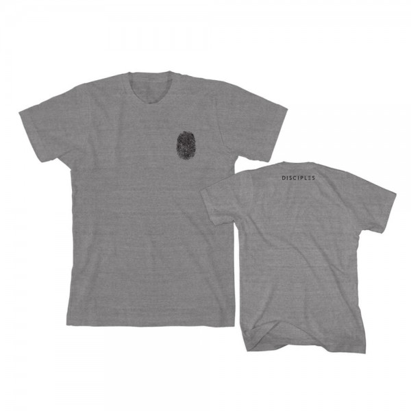 Thumbprint Grey T-Shirt - Disciples Merchandise