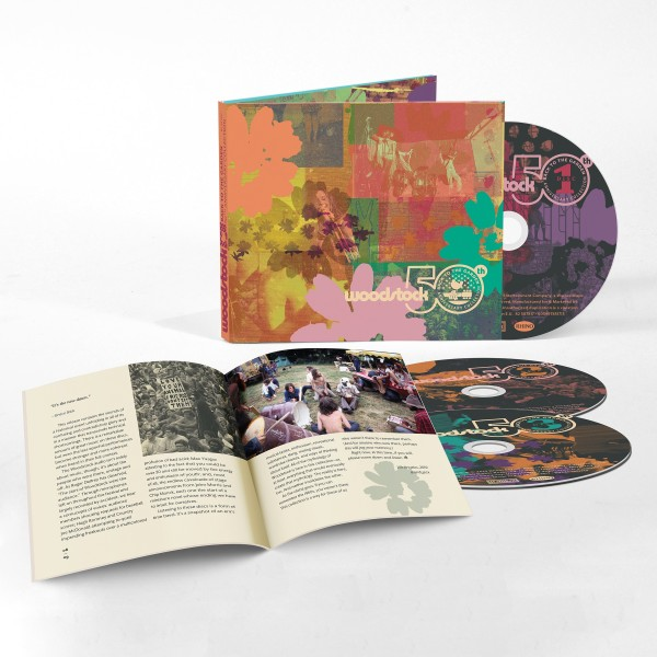 Woodstock — Back To The Garden — 50th Anniversary Collection 3CD
